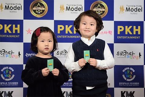瑞普斯联合美卡熊品牌全程赞助韩国儿童模特大赛!