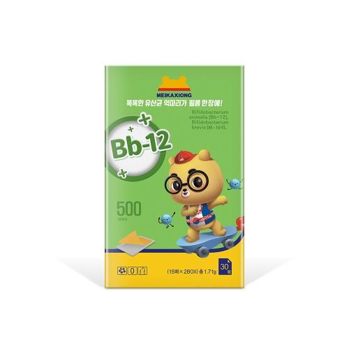 美卡熊Bb-12复合益生菌口膜片